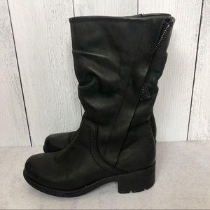 Clarks Artisan Mansi Juniper Combat Boots